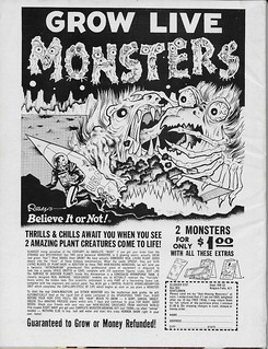 Famous Monsters No. 32 Back Cover ( Warren 1965 )