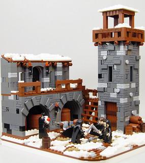 Lego GoT - Castle Black
