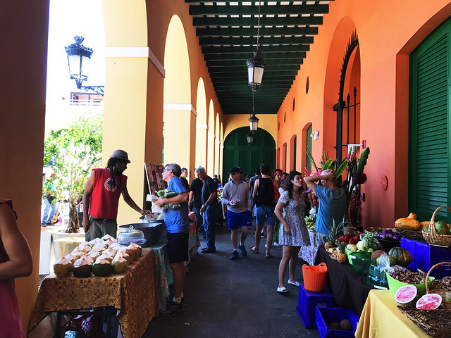 Old San Juan farmers market