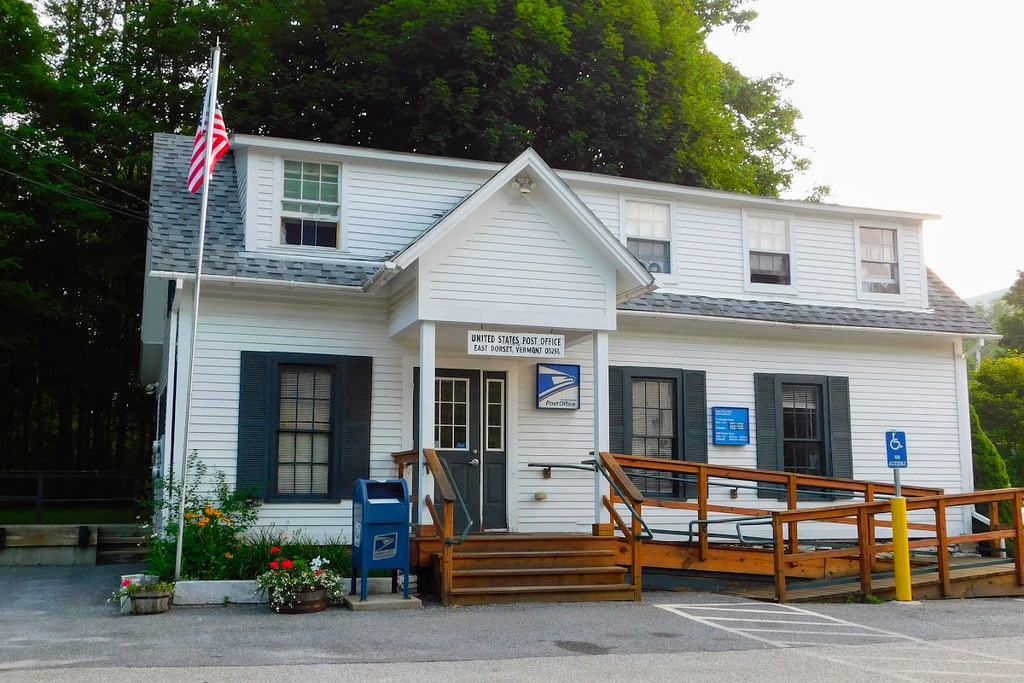 East Dorset Vt Post Office Bennington County Photo By J Flickr