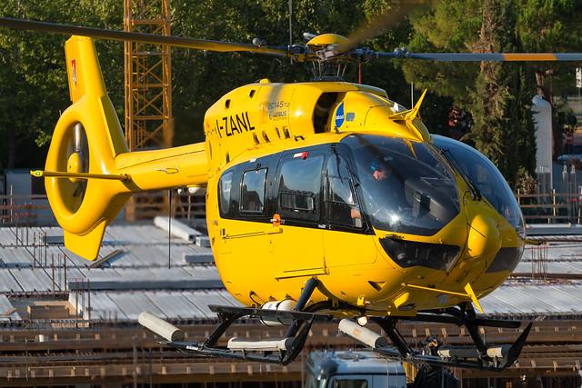 Babcock Airbus Helicopter EC145 T2 I-ZANL - Ponte a Niccheri Helipad