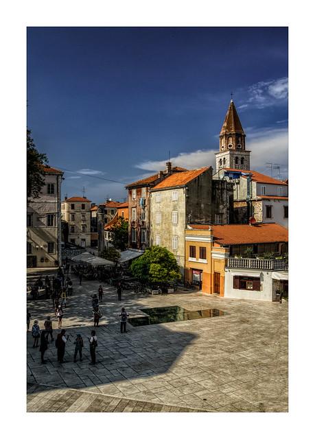 Place des 5 puits, Zadar