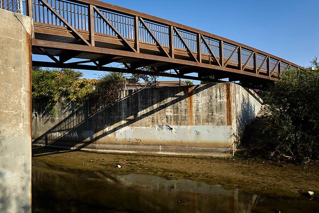 bridge over branciforte creek