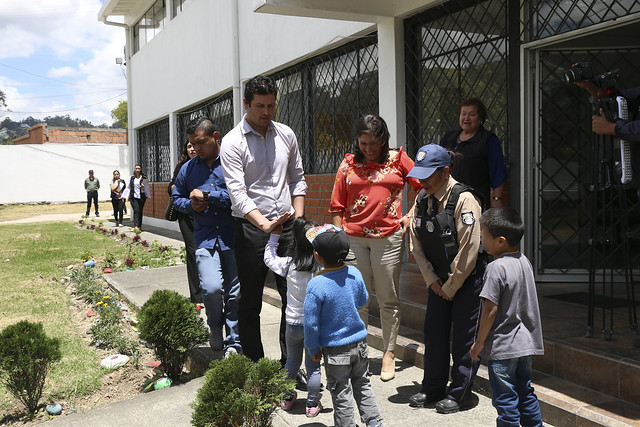 RECORRIDO POR UNIDADES DE ATENCIÓN DEL MIES
