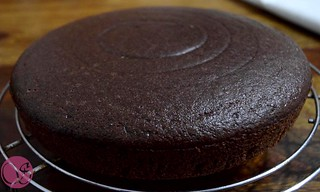 Eggless chocolate cake | by Sonlicious