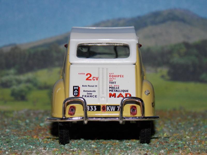 Citroën 2CV Expedition Alexandre – 1961