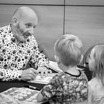 Nick Sharratt book signing   © Cindy-Lou Ramsay