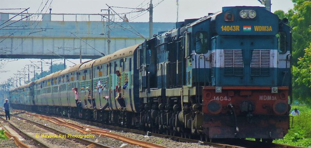 Clicked 2 weeks after and still has the same twins - Indian Railways..