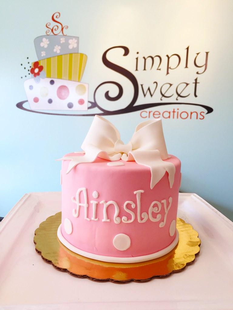 Fabulous Simple Birthday Cake A Photo On Flickriver Funny Birthday Cards Online Elaedamsfinfo