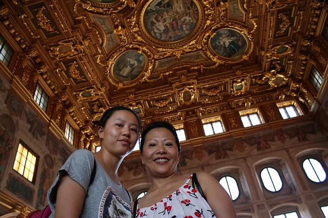 Im Goldenen Saal im Augsburger Rathaus