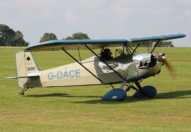 Corben Baby Ace G-DACE Sywell 02/09/17