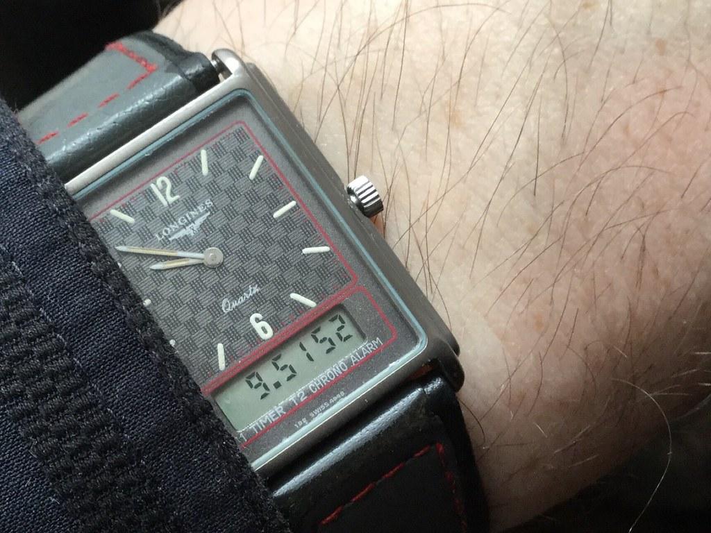 Longines split 5 watch