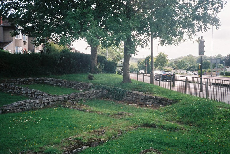 Roman remains in Abona (Sea Mills)