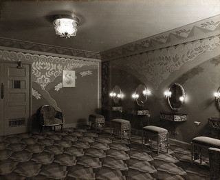 Powder room at the Paramount Theatre, Newcastle