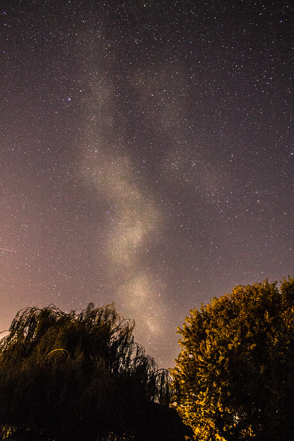 Milky Way from Oxfordshire, UK (1) 9:40pm BST 09/09/17