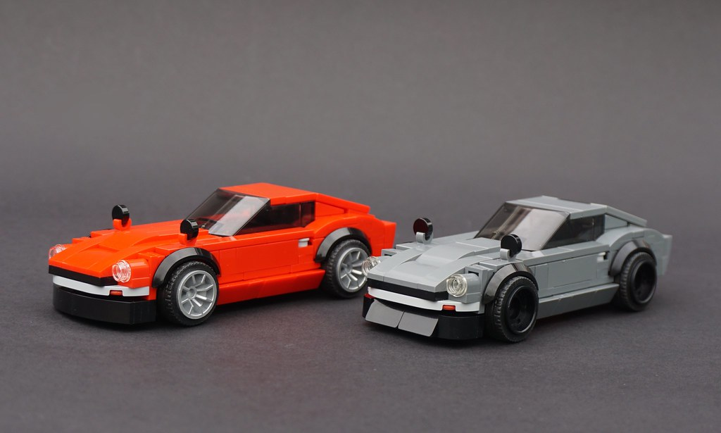 Lego JDM-tuned Datsun 240Zs | Some alternate thoughts for ...