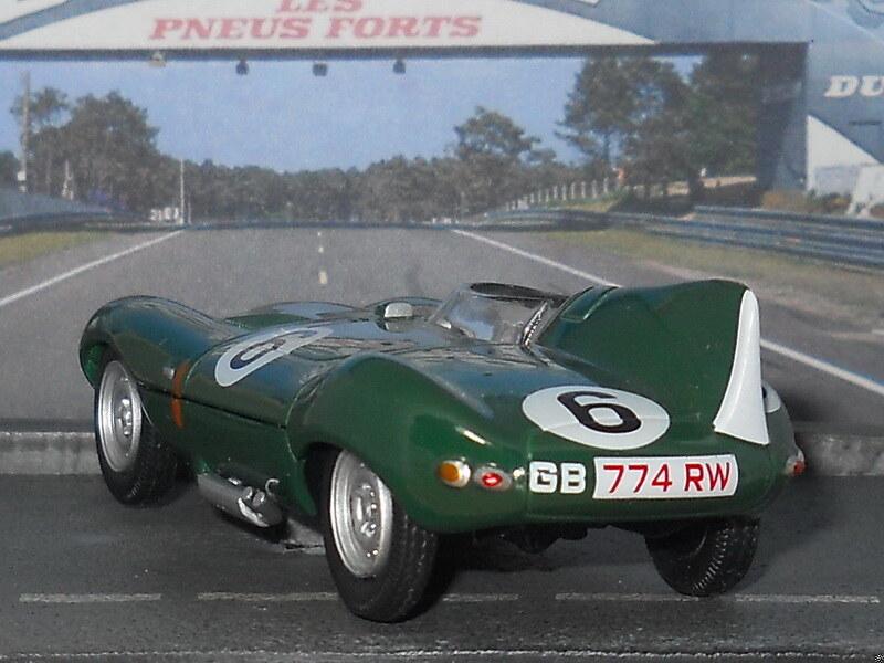 Jaguar D-Type – Le Mans 1955