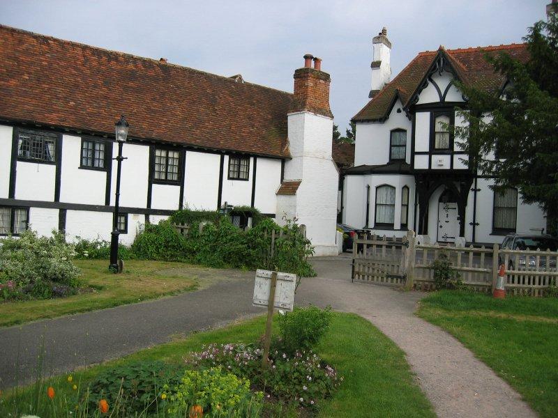 church gate house