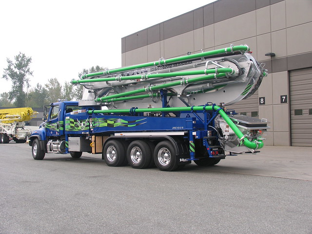 43 Meter 5-Section RZ Boom Concrete Pump | Alliance Concrete Pumps