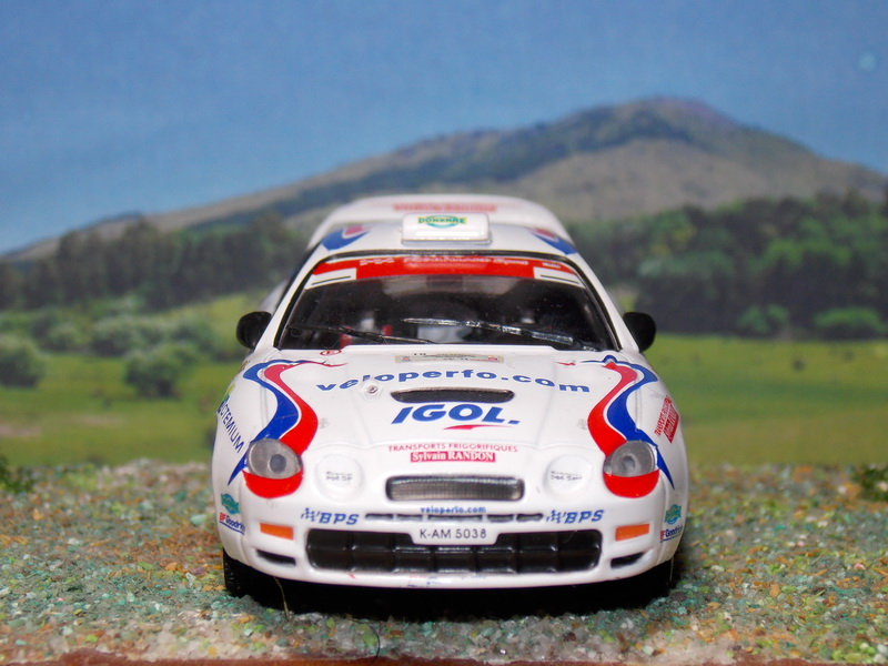 Toyota Celica GT4 – Rallye Rouergue 2008