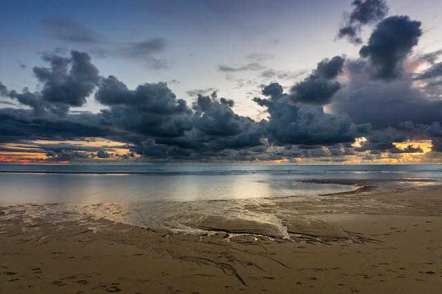 Sunset Maasvlaktestrand 2