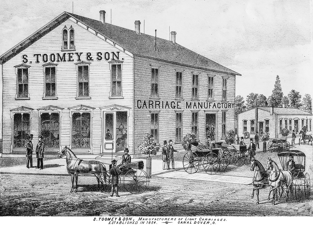 S  Toomey and Son carriage factory, Canal Dover | Guernsey