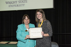 15355 Jane Koester, Honors Program Graduation Ceremony 4-30-15