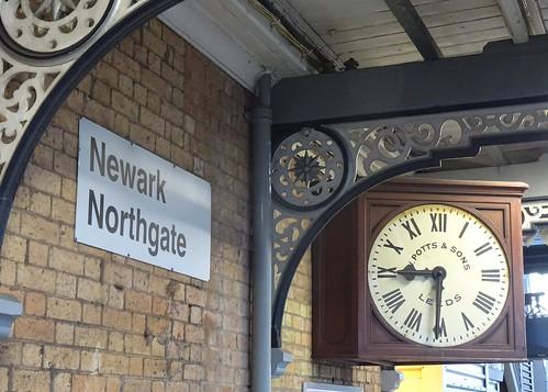 Station Clock, Newark Northgate
