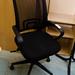 Ex demo new stock mesh swivel chair E65