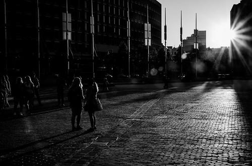 rays sun boston massachusetts newengland downtown streetphotography light touched shadows flare monochrome blackandwhite streetphoto people urban buildings sunset blackwhitephotos