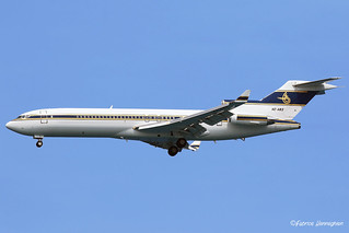 HZ-AB3 Al Anwa Aviation Boeing 727-022(RE)(WL)   by Planes , ships and trains!