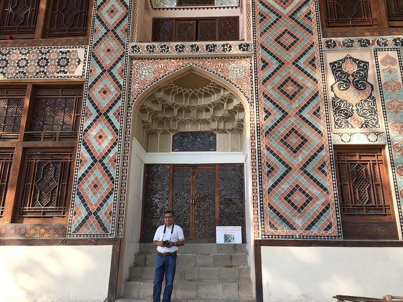 It was ornate- at times garish- outside the Khansarai