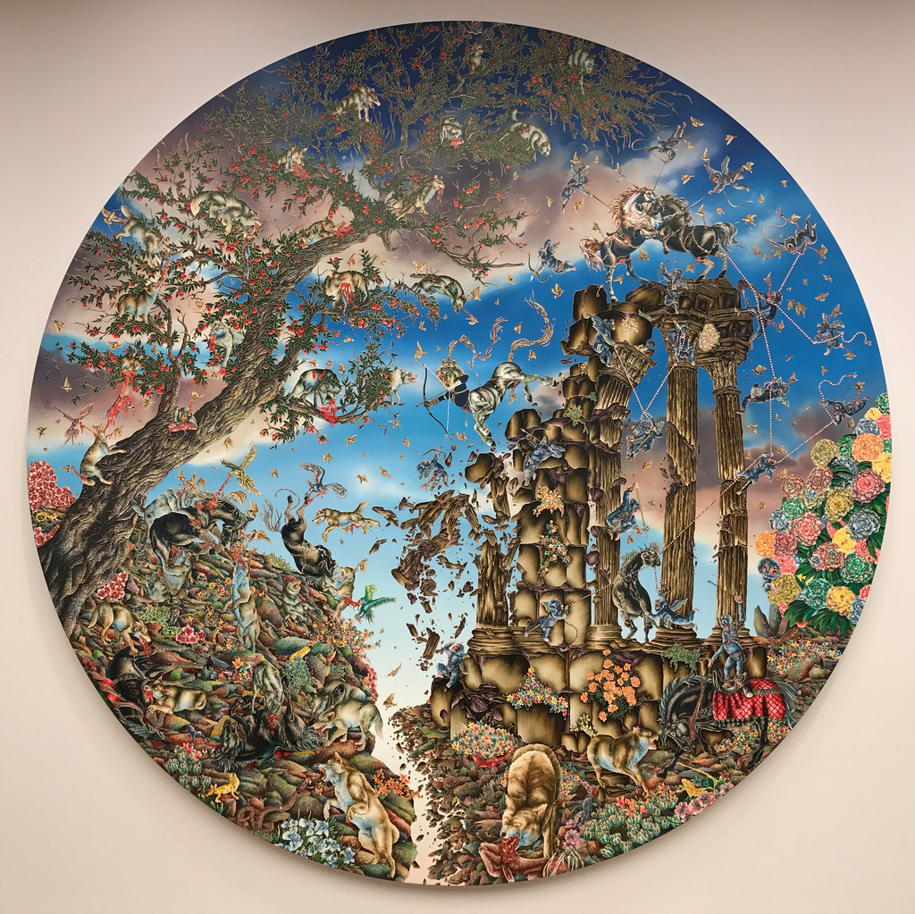 Arrival of the Horse King (from the series Paradise Lost), 2011-2012; Raqib Shaw