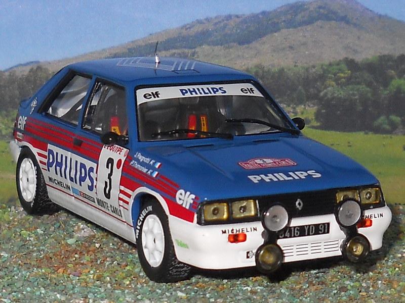 Renault 11 Turbo – Montecarlo 1987