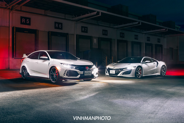 Honda Civic Type-R & NSX