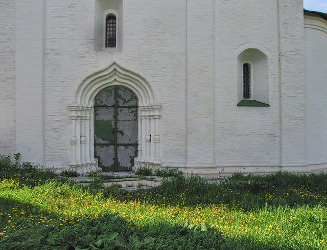 Doorway with afternoon light Solotcha Kremlin Ryazan