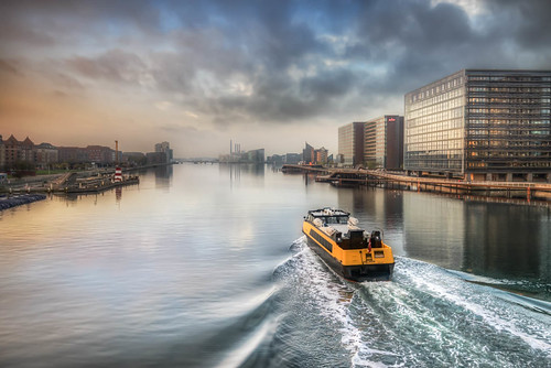 Copenhagen Harbour Water Bus | by Jacob Surland Fine Art Photographer