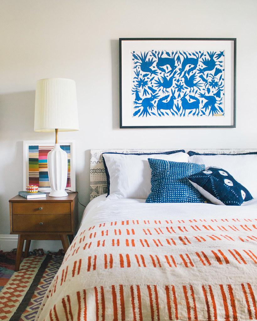 Modern Bohemian Bedroom • St. Frank Art + Textiles   Flickr