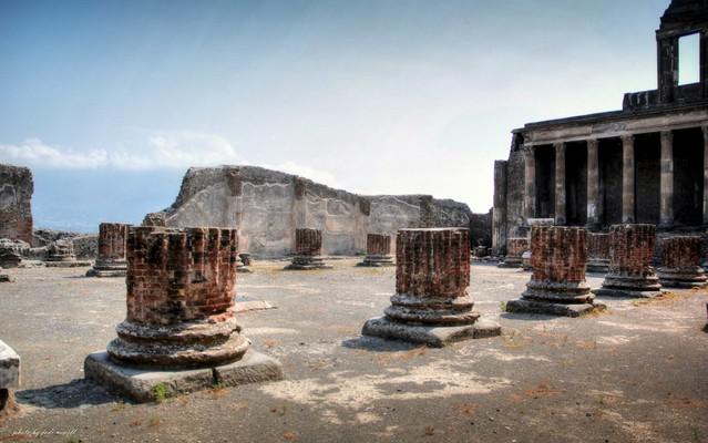 The lost city of Pompeii