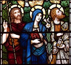 St John the Baptist, Blessed Virgin and St Peter (Powell & Sons, 1912)