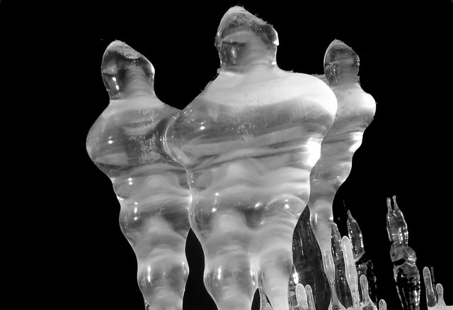 The Three Graces in Ice
