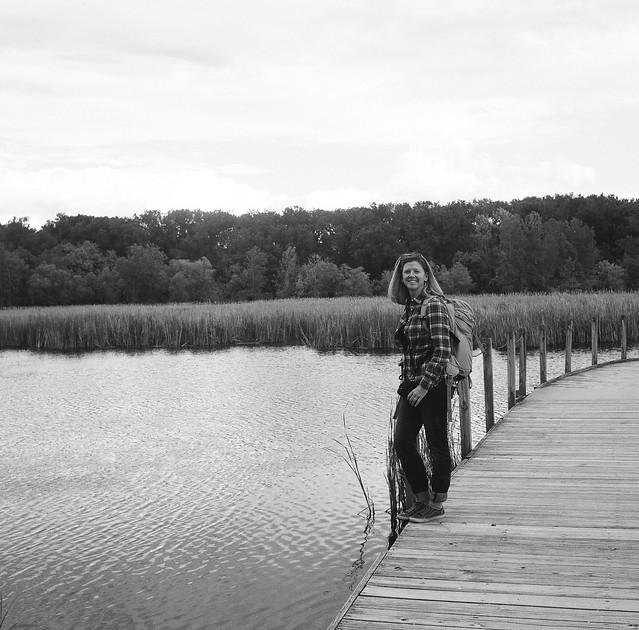 Britney at Wood Lake