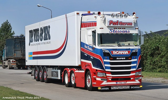 Scania S500 (B166) Peter Wouters - JP.VIS & ZN. (NL)