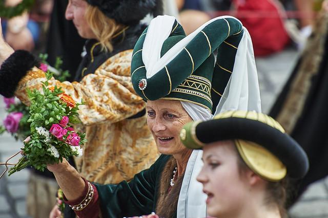 Landshuter Hochzeit 2017 - Adelige Dame 3