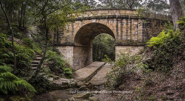 Lennox Bridge - Mitchell's Pass - Blue Mountains - NSW