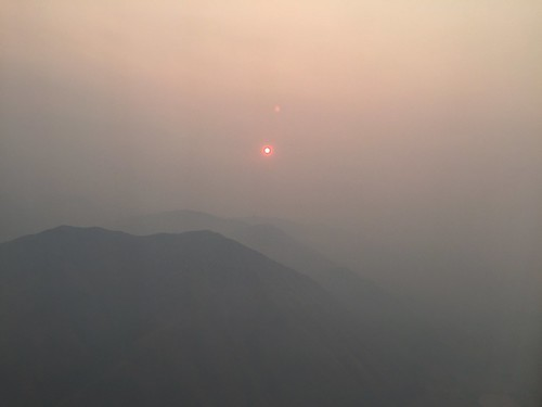 idaho id smokey sunrise