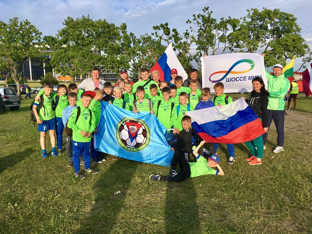 Russia-2017-07-02-Young Footballers 'Make Peace' in International Tournament