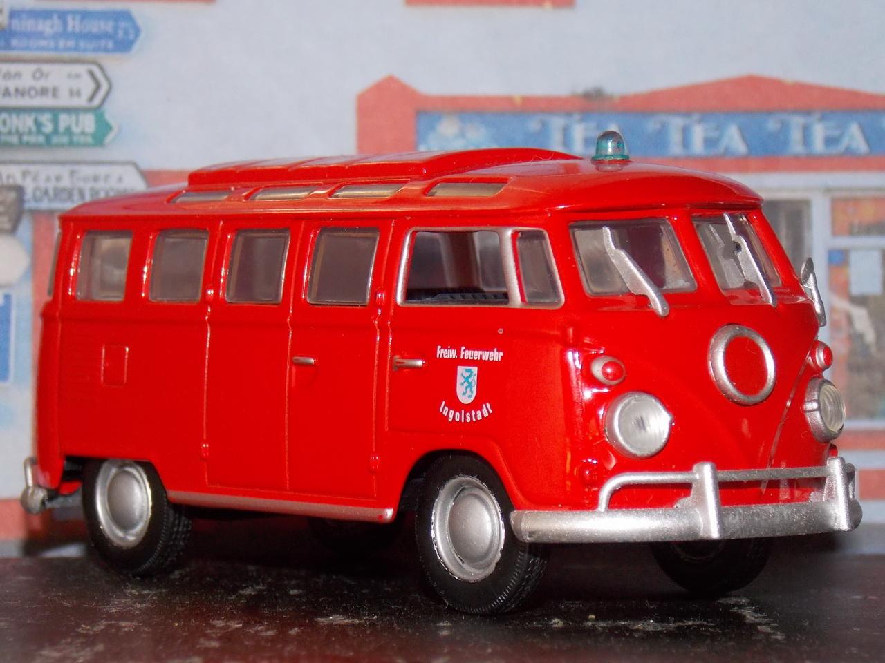 VW T1 Samba – Bomberos – 1962