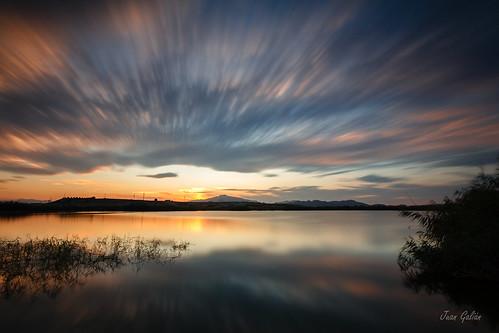 largaexposición landscape longexposure tokina murcia spain sunset españa sky nubes atardecer puestadesol agua water reflejos laguna cielo