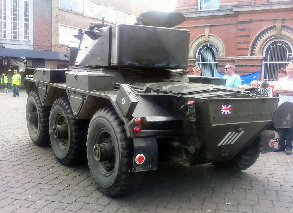 British Army, FV601, Saladin Armoured Car, DSJ 640 NSR    Flickr